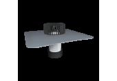 Sanačný vpust Topwet na PVC – pre nezateplené strechy, DN 116 - 129 mm
