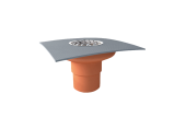Balkónový vpust Topwet na PVC fóliu DN 50 mm
