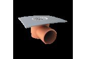 Balkónový vpust Topwet na PVC fóliu DN 50 mm s bočným odtokom