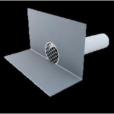 Guľatý chrlič na PVC fóliu TOPWET DN 70 mm
