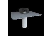 Jednostenný strešný vpust TOPWET na PVC - pre nezateplené strechy, DN 100 / 110 mm