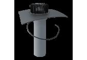 Jednostenný strešný vpust  TOPWET na TPO – vyhrievaný,  DN 100 / 110  mm