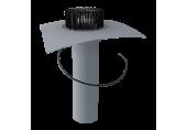 Jednostenný strešný vpust TOPWET na PVC - vyhrievaný, DN 100 / 110 mm